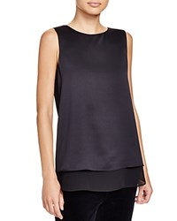 Cooper And Ella Avery Tiered Sleeveless Blouse Black