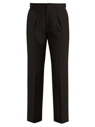 Connolly Smoking High Rise Tuxedo Trousers Black
