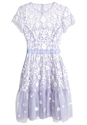 Needle And Thread Meadow Cocktail Dress Party Dress Dust Blue Ecru Light Blue