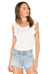 Wildfox Couture Short Sleeve Top White