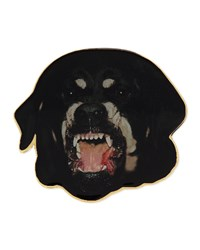 Givenchy Rottweiler Badge Pin Multi Colors