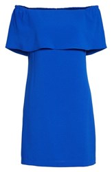 Charles Henry Women's Off The Shoulder Dress Royal