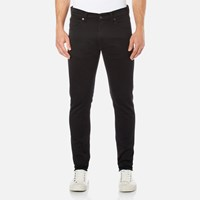 Edwin Men's Ed 85 Slim Tapered Drop Crotch Jeans Rinsed Ink Black
