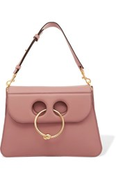 J.W.Anderson Pierce Medium Leather Shoulder Bag Antique Rose