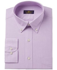 Club Room Estate Classic Fit Wrinkle Resistant Dress Shirt Created For Macy's Lavender
