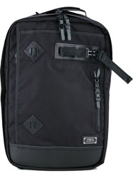 As2ov Large Backpack Men Nylon One Size Black