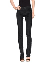 Prada Denim Denim Trousers Women Black