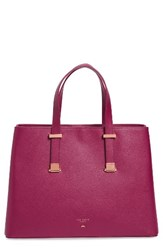 Ted Baker London Alissaa Leather Tote Purple Grape