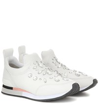 Tory Burch Laney Embellished Sneaker White