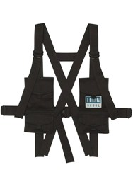 Iise Structured Chest Rig Black