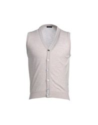 Rossopuro Sweater Vests Beige