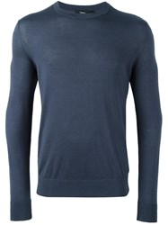 Theory Classic Jumper Blue
