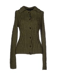 Blauer Knitwear Cardigans Women Military Green