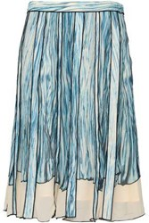 Proenza Schouler Knee Length Skirt Sky Blue