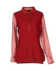 Cooperativa Pescatori Posillipo Sweaters Brick Red