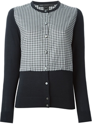 Marc By Marc Jacobs Checked Cardigan