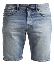 Only And Sons Onsavi Denim Shorts Light Blue Denim