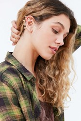 Urban Outfitters Ball Ear Cuff Earring Gold