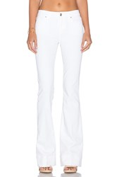 Joe's Jeans Marlie Play Dirty Stay Spotless The Icon Flare Optic White