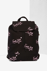 Nasty Gal Lazy Oaf Eff Yea Backpack