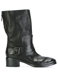 Marsell Moto Boots Black
