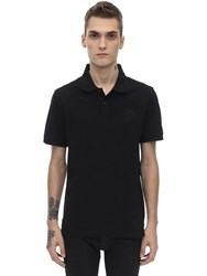 Belstaff Cotton Piquet Polo Shirt Black