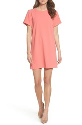 Felicity And Coco Devery Crepe Shift Dress Sugar Coral