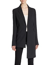 Akris Asymmetrical Wool Blend Jacket