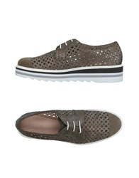 Pertini Lace Up Shoes Grey