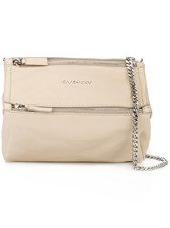 Givenchy Mini 'Pandora' Crossbody Bag Nude And Neutrals