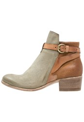 Mjus Donella Boots Salvia Biscotto Green