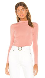 Privacy Please Gigi Top In Pink. Blush