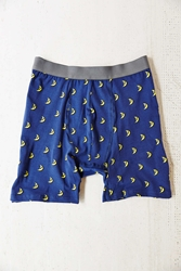 Urban Outfitters Night Moon Boxer Brief Dark Blue