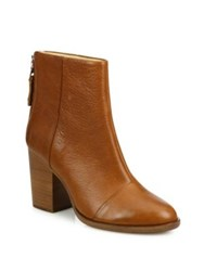 Rag And Bone Ashby Leather Booties Tan