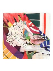 Mary Katrantzou Mixed Print Scarf Multicolour