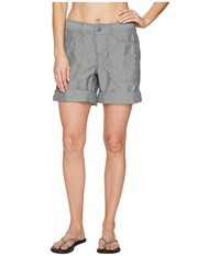 The North Face Horizon 2.0 Roll Up Shorts Sedona Sage Grey Heather Prior Season Gray