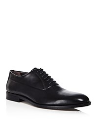 Canali Stock Oxford Shoes Black
