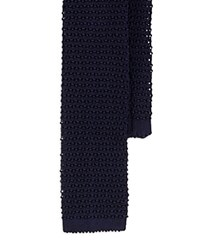 Polo Ralph Lauren Solid Classic Silk Knit Tie Navy