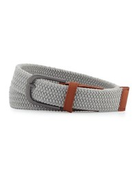 Original Penguin Space Dyed Woven Web Belt Gray