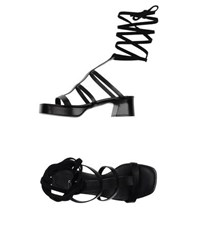 Cnc Costume National Costume National Footwear Sandals Women Black
