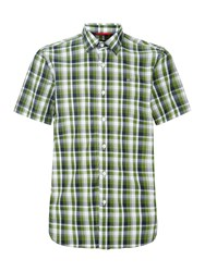 Victorinox Schimbrig Short Sleeve Shirt Green