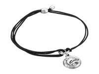 Alex And Ani Kindred Cord Bracelet Dolphin Silver Bracelet Black