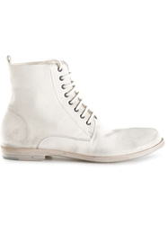 Marsell Marsell Lace Up Ankle Boot White