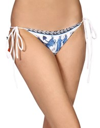 Clover Canyon Swim Briefs White