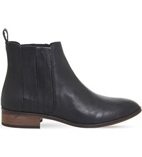 Office Ashton Leather Chelsea Boots Black Leather