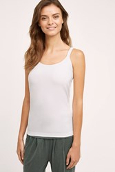 Anthropologie Seamless Layering Cami White