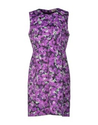Calla Short Dresses Purple