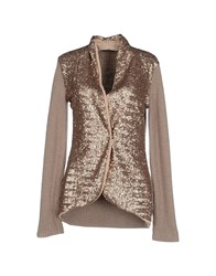 Cristinaeffe Collection Knitwear Cardigans Women Brown