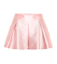 Red Valentino Plissee Shorts Pink