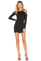 Susana Monaco Rose Bodycon 16 Dress Black